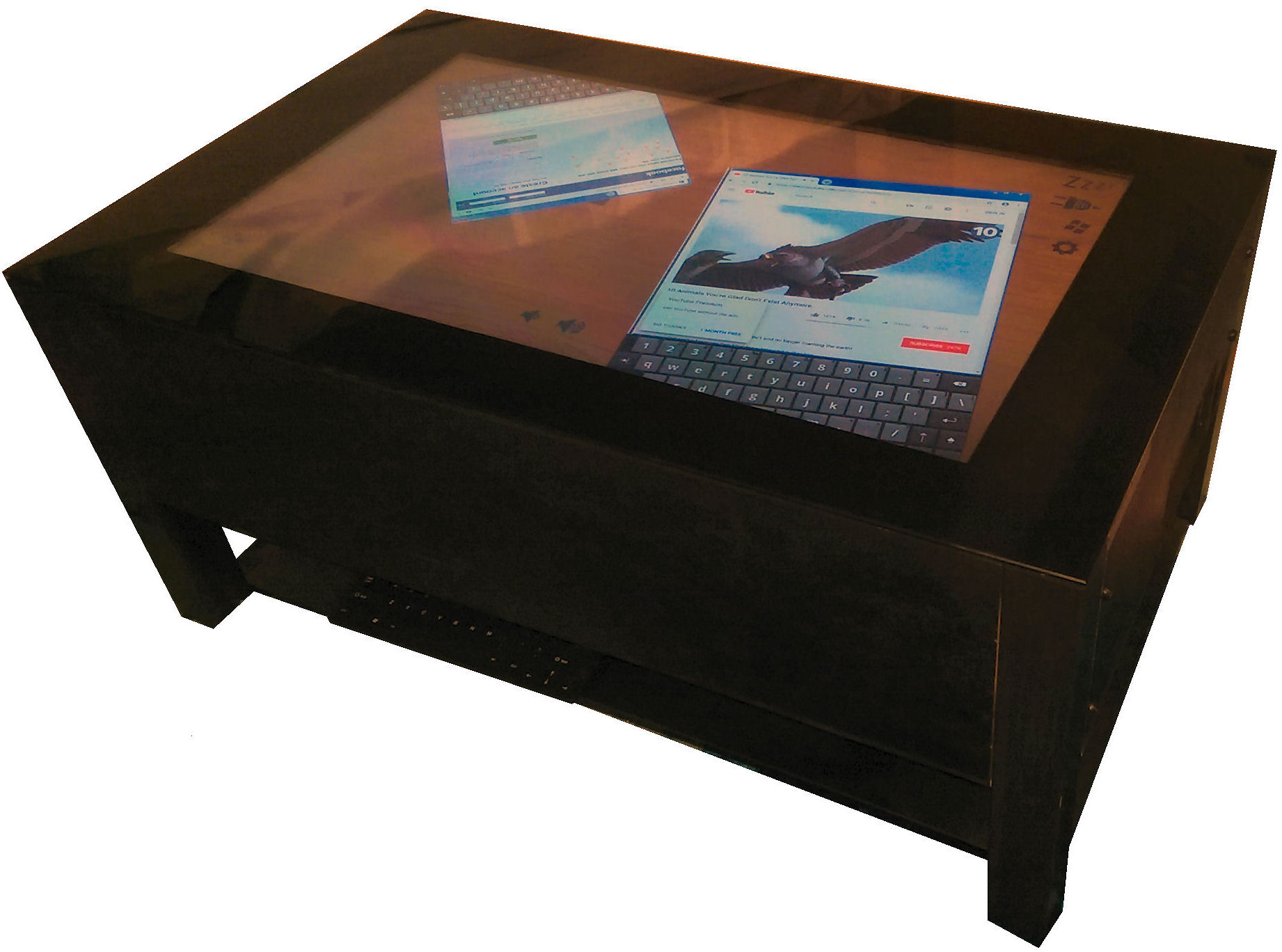 touch screen table 8